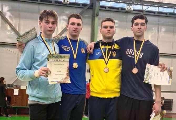 ЧУ 2021 Київ: Рапіристи розіграли нагороди чемпіонату України U-23