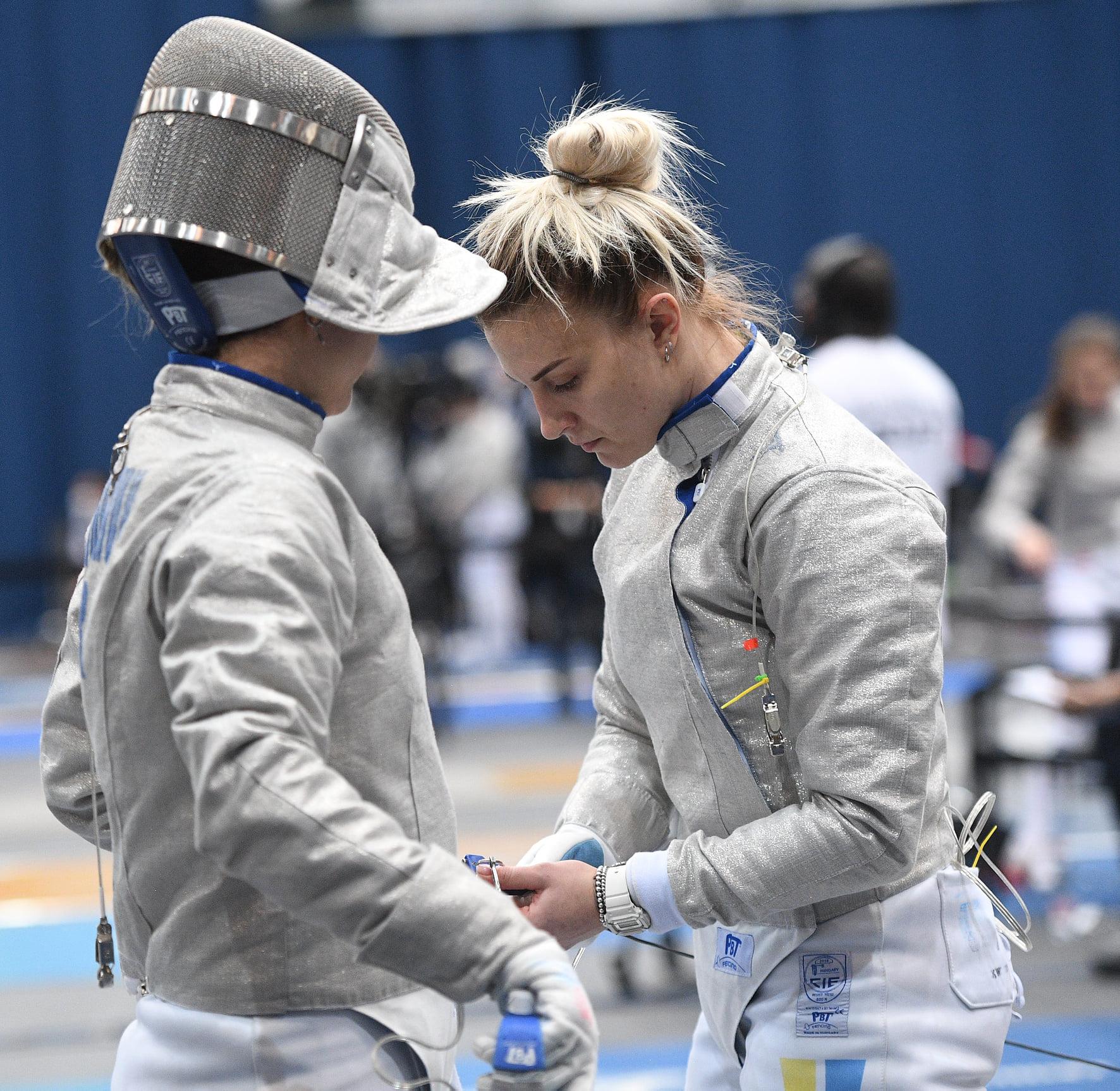 КС 2021 Будапешт: Шаблісти та шаблістки розіграли нагороди та очки в олімпійський рейтинг Токіо