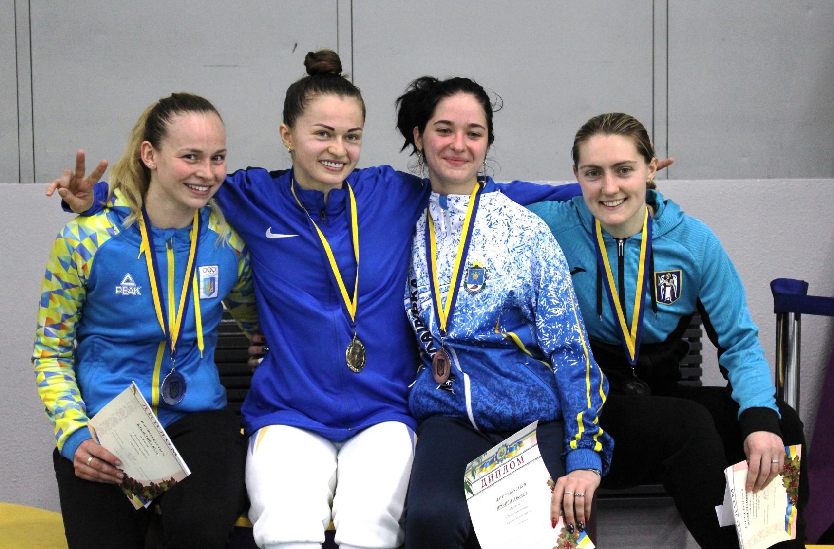 Чемпіонат України з фехтування на шаблях (Київ)