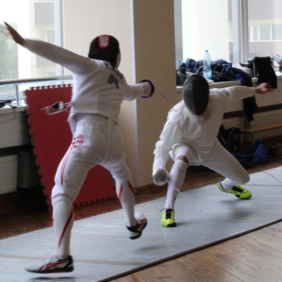 Українські та японські шпажисти разом готуються до Олімпіади