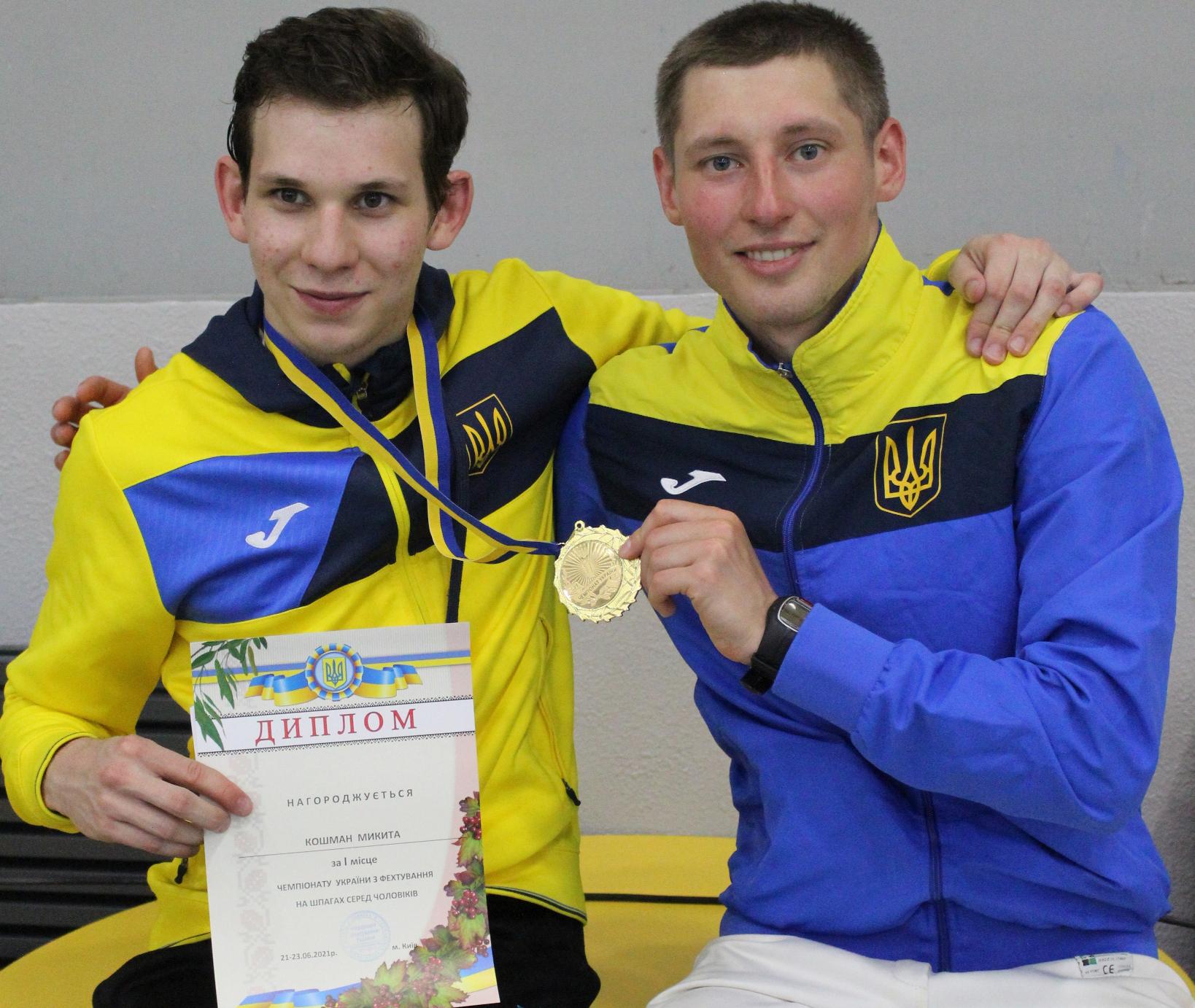 ЧУ 2021 Київ: Нікіта Кошман у свій день народження вперше виграє чемпіонат України