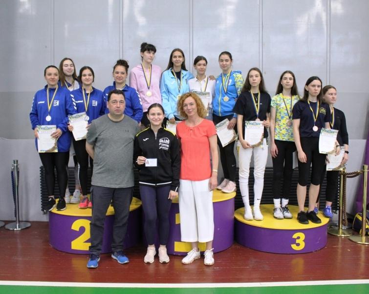 Чемпіонат України U-23 шпага, жінки (Київ)