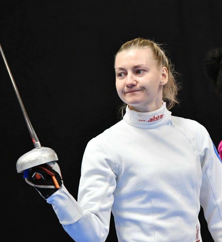 Кривицька першою серед українських фехтувальників виступила у Токіо-2020
